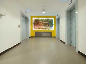 Лифтовая зона секции Монако 1 корпуса